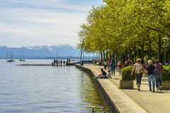 Starnberger See, Bavaria, Germany Royalty Free Stock Photography