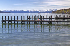 Starnberger See Lake in Bavaria, Germany Royalty Free Stock Images