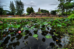 Starość dom w Tajlandia Obraz Royalty Free