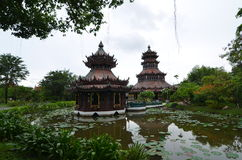 Starość kasztel w Tajlandia Obraz Royalty Free