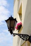 starożytna światła street Poland Fotografia Royalty Free