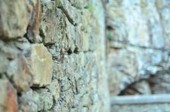 starożytna kamienna ściana Fotografia Stock