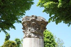 starożytna kolumny zdjęcia royalty free