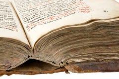 starożytna książka Obrazy Royalty Free