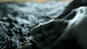 starożytna ludzkiej czaszki Apokalipsy pojęcie Super realistyczna 4K animacja zbiory