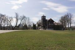 starożytna manor obraz royalty free