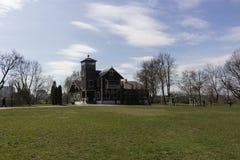 starożytna manor zdjęcia stock
