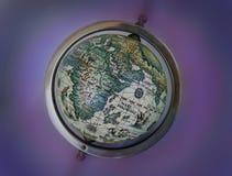 starożytna mapa globu Obrazy Royalty Free