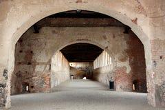 starożytna podwyższona road Zdjęcie Royalty Free