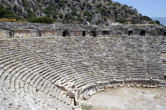 starożytne amfiteatrze Zdjęcia Stock