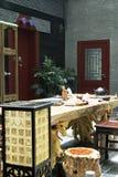 starożytne chiny herbaciarnię Zdjęcia Stock