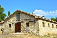 starożytne stworzenia farmy mleczarskim krajowych tradycji pracują w szczególności turystów Zdjęcia Royalty Free
