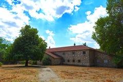 starożytne stworzenia farmy mleczarskim krajowych tradycji pracują w szczególności turystów Obrazy Stock