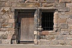 starożytny andwwindow drzwi Obrazy Royalty Free