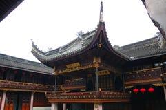 starożytny chiński teatr Zdjęcia Royalty Free