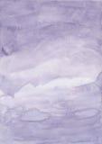 starożytny ciemności tła papieru akwareli żółty Obrazy Stock