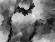 starożytny ciemności tła papieru akwareli żółty Zdjęcie Stock