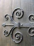starożytny drzwi zawiasu metalu obraz royalty free