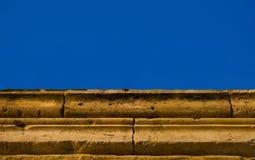 starożytny grek ściana Fotografia Royalty Free