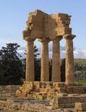 Starożytny Grek świątynia, dolina świątynie Obrazy Royalty Free