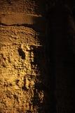Starożytny Grek świątynia segesta, noc widok Obrazy Royalty Free
