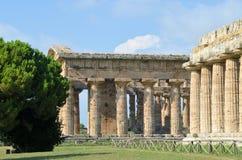 Starożytny Grek świątynie Obrazy Royalty Free