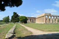 Starożytny Grek świątynie Obrazy Stock