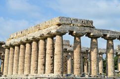 Starożytny Grek świątynie Fotografia Royalty Free