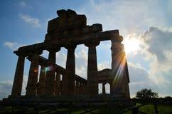 Starożytny Grek świątynie Fotografia Stock