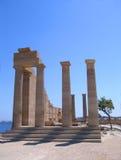 starożytny grek rujnuje świątynię Fotografia Royalty Free