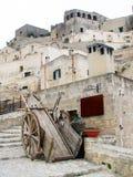starożytny handcart obraz stock