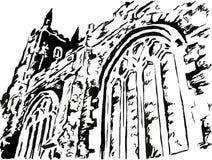 starożytny kościoła Obrazy Stock