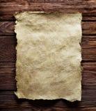 starożytny papieru fotografia stock