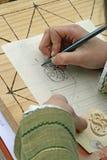 starożytny piśmie Zdjęcia Royalty Free