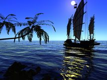 starożytny statku zdjęcia royalty free