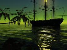starożytny statku ilustracji