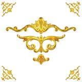starożytny złoto ilustracji