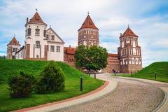 starożytny zamek średniowieczny Zdjęcie Stock