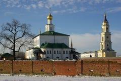 Staro-Golutvin monastery, Kolomna, Russia Stock Images