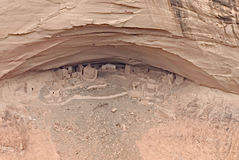 starożytna indyjska wioska navaho obraz royalty free
