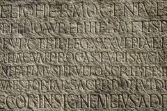 starożytna typografia Zdjęcia Stock