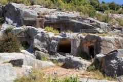 starożytne groby Zdjęcie Royalty Free