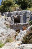 starożytne groby Zdjęcia Stock