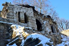 starożytne ruiny Zdjęcia Royalty Free