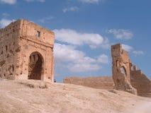 starożytne ruiny Morocco Obrazy Stock