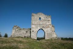 starożytne ruiny zamku Fotografia Stock