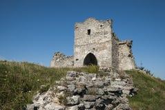 starożytne ruiny zamku Zdjęcie Royalty Free