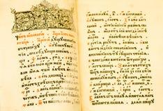 starożytne strony Zdjęcia Stock
