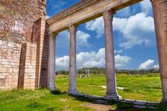 Starożytnego Grka miasta Lydia imperium rzymskie Sardes Sardis Obraz Stock