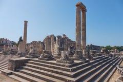 Starożytnego Grka miasto Didyma Zdjęcia Royalty Free